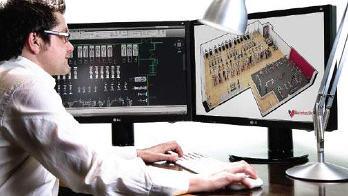Roland doing a 3D Floorplan