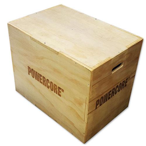 Powercore Adjustable Wooden Jump Box