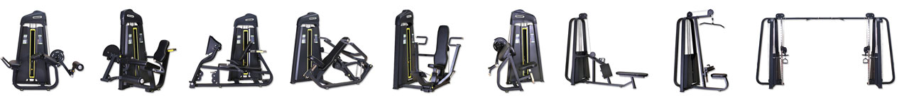 Powercore Circuit Training Gym Equipment