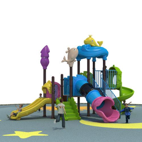KIDS EQUIPMENT: DOLPHIN SPLASH PLAYGROUND [DFC 130-1]