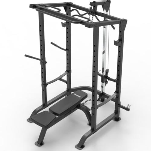 Power Rack + Bench